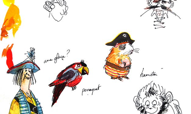 Les illustrations de Piratouille par Irène Bonacina !