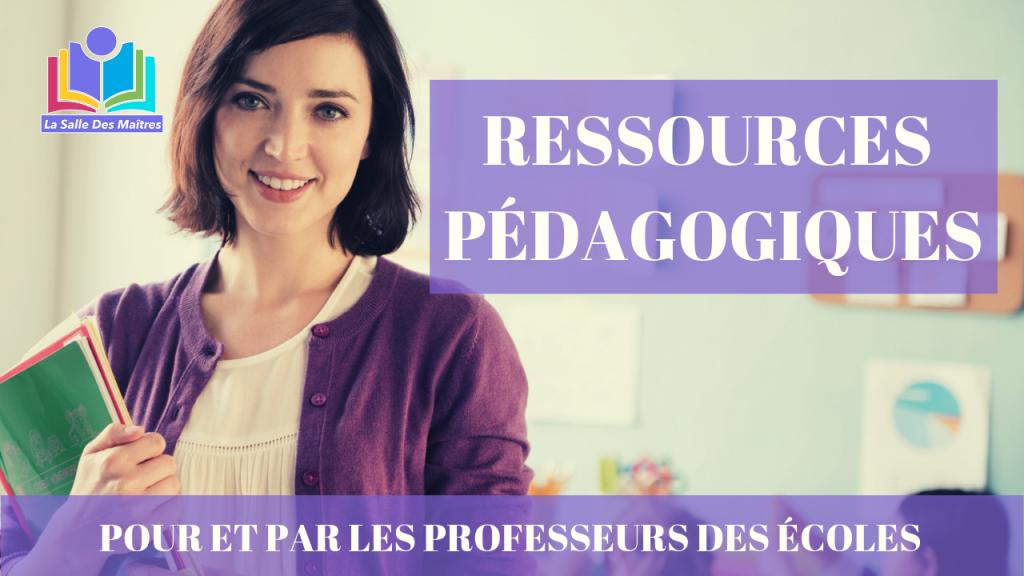 homepage ressources pédagogiques pour les maîtres